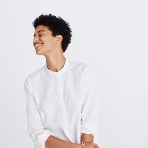 Madewell Wellspring Tunic Popover Shirt